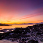 Sunset at Thingvellir national park