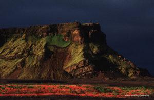 Hjörleifshöfði south Iceland