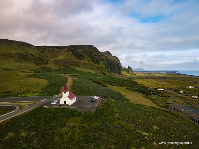 Church in Vík í Mýrdal