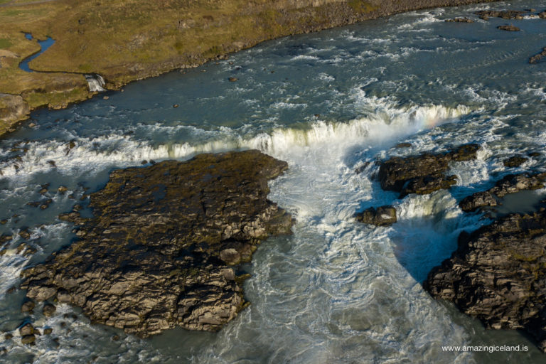 View over Urriðafoss