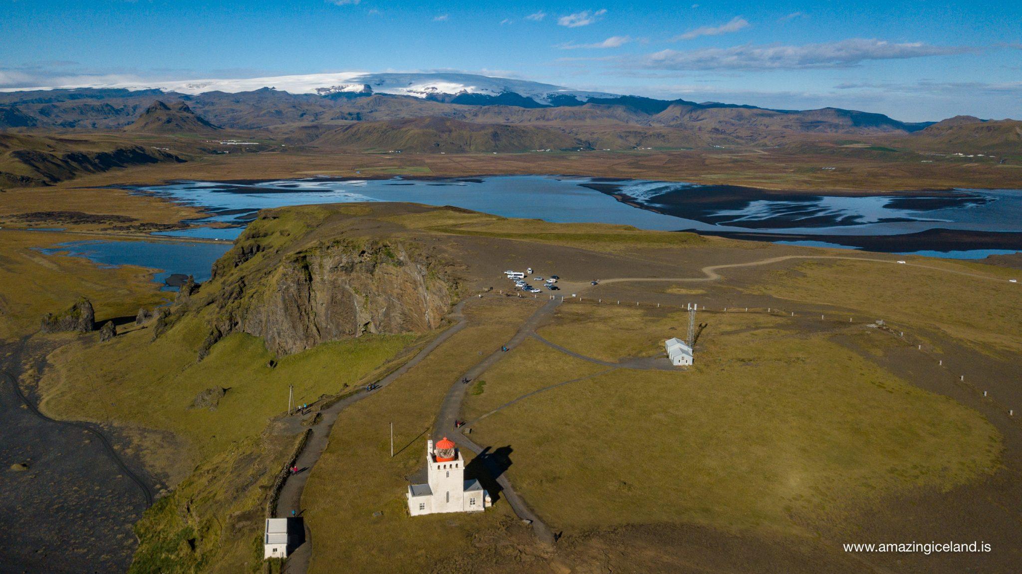 Dyrhólaey Island in south iceland