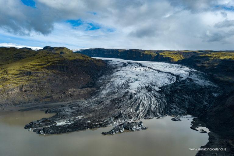 Sólheimajökull and the lagoon