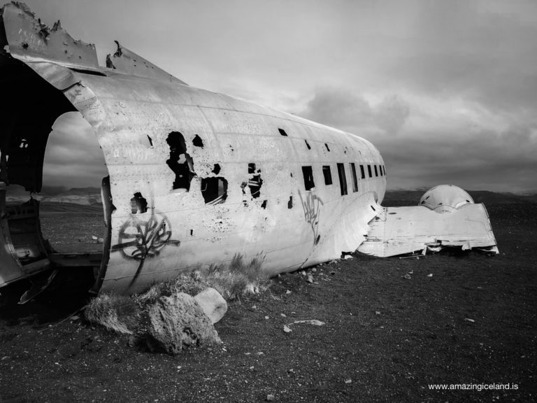 Douglas C-117 Plane wreck on Sólheimasandur on south coast of Iceland