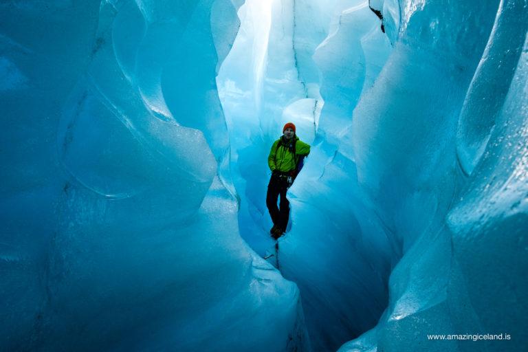 icecave in solheimajokull