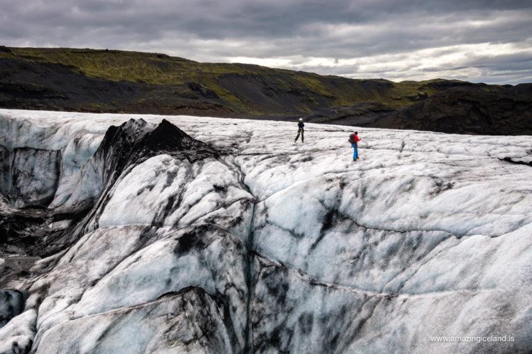 iceclimbers on solheimajokull
