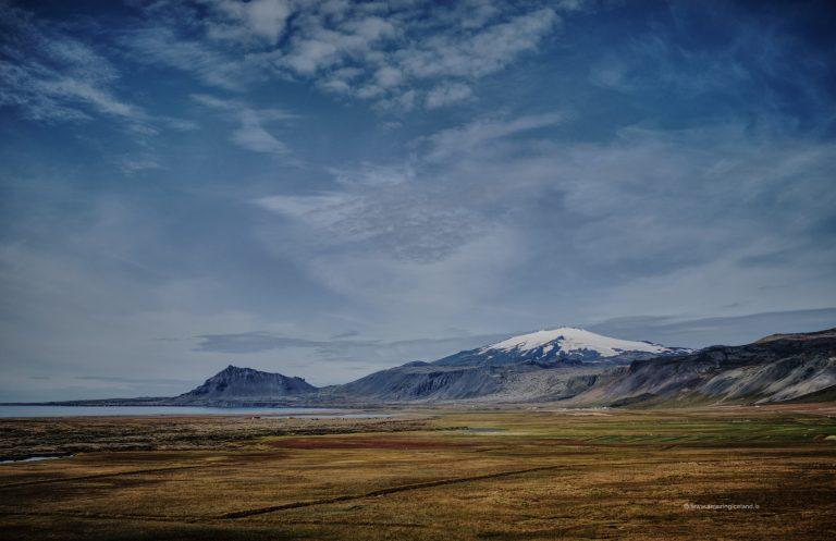 Snæfellsjökull glacier and volcano in Snæfellsnes Iceland