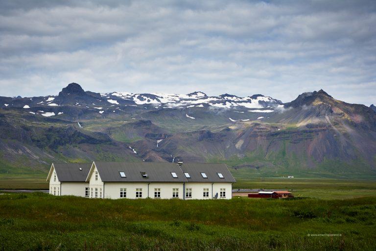 Hotel budir in Snæfellsnes west Iceland