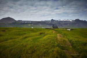 Búðir area in Snæfellsnes Iceland