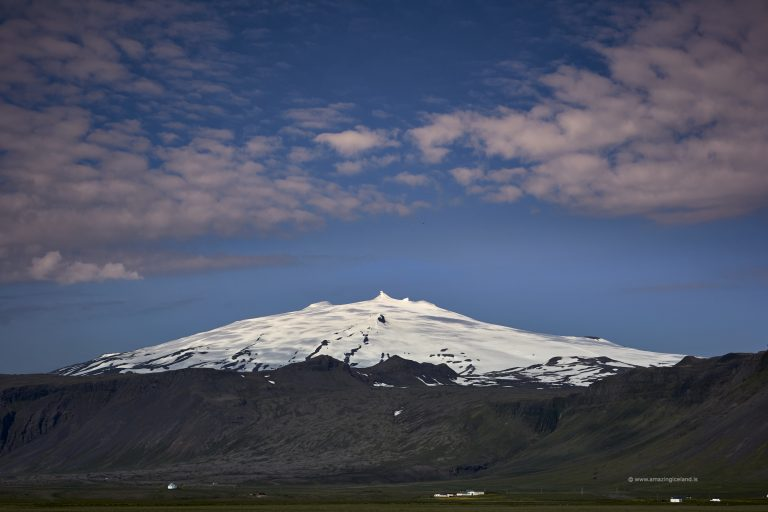 The glacier of Snæfellsjökull