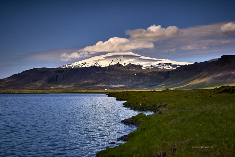 Clouds over Snæfellsjökull