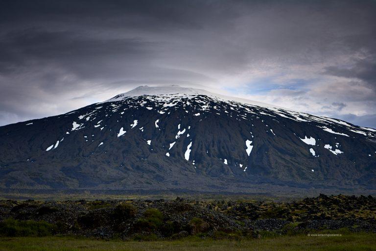 West side of stratovolcano Snæfellsjökull