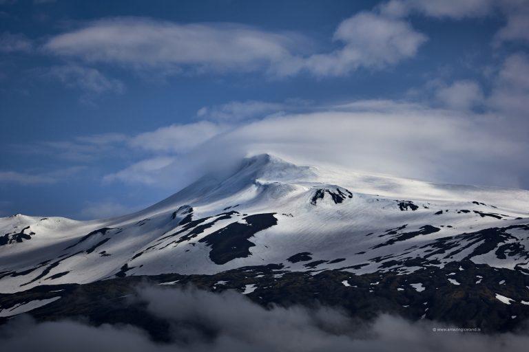 Close up of Snæfellsjökull glacier