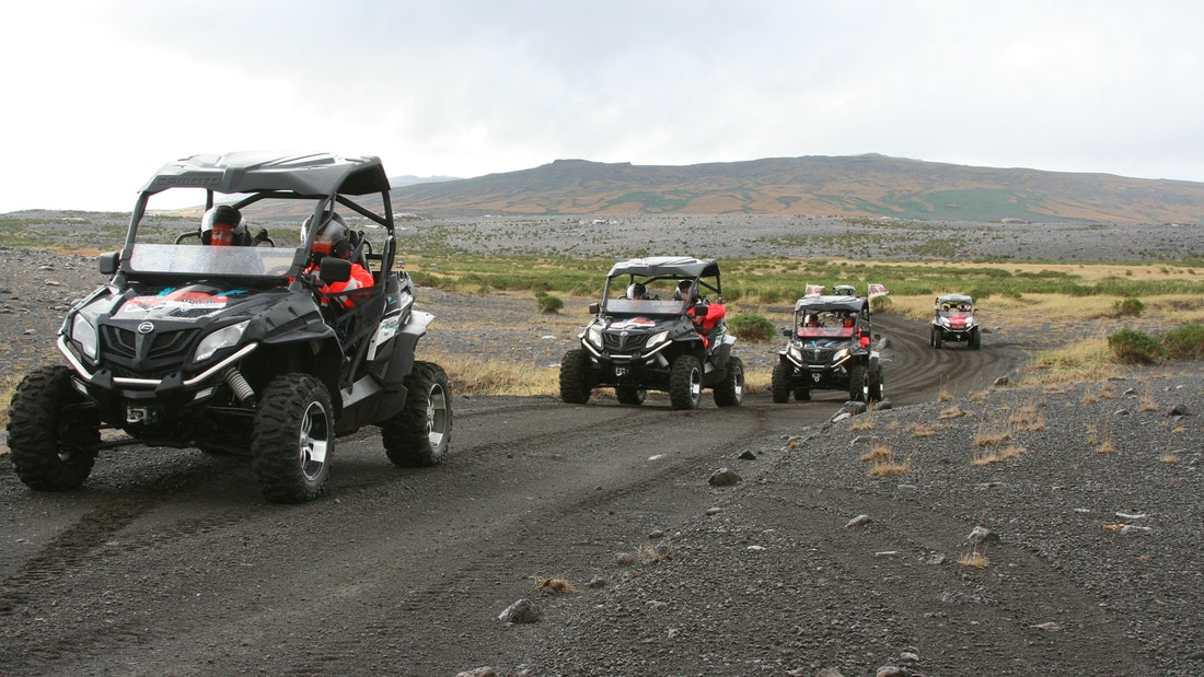 Buggy-Snowmobiling combo