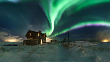 Photo infused Northern Lights 002